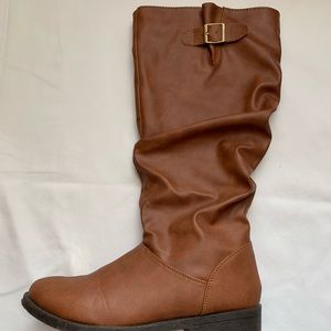 Quipid Tan Riding Boots